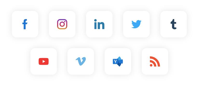 embed social media feed from social media platform
