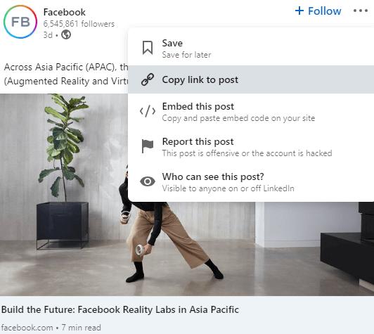 Embed LinkedIn Feeds on Weebly