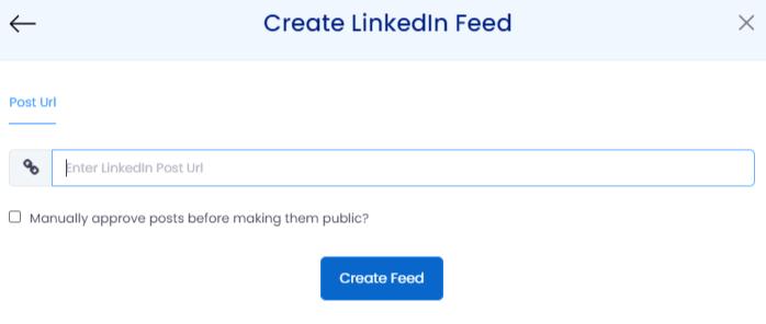 embed linkedin feeds