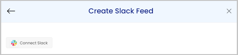 create slack feed on website