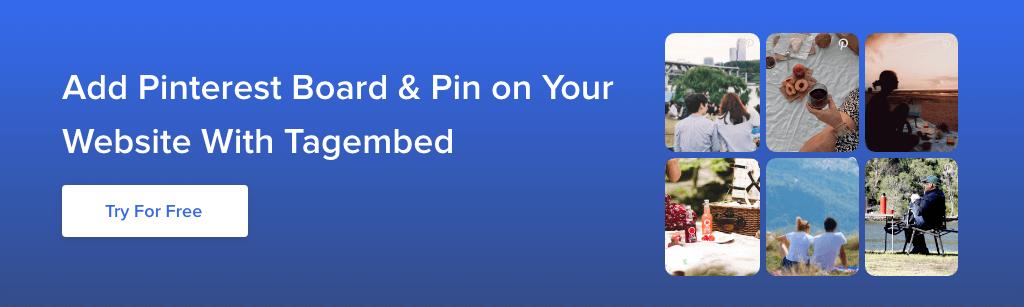 Embed Pinterest Board On Website