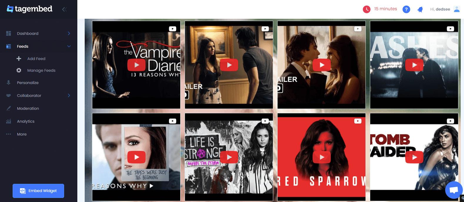 Embed YouTube Playlist on websites
