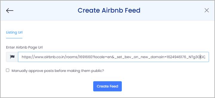 Display Airbnb Reviews on Website