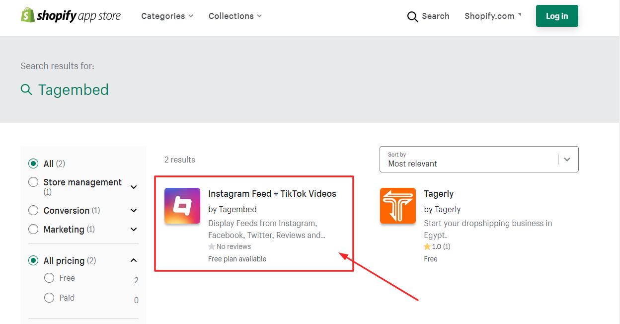 Instagram Feed Shopify App