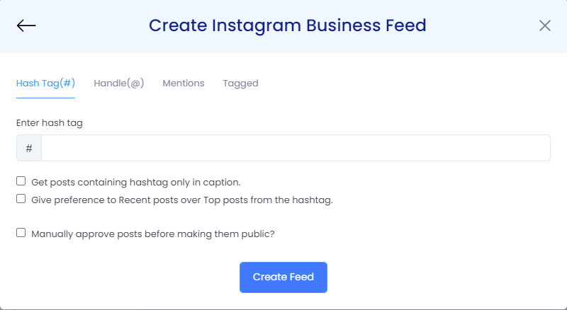 embed instagram feeds on blogger website