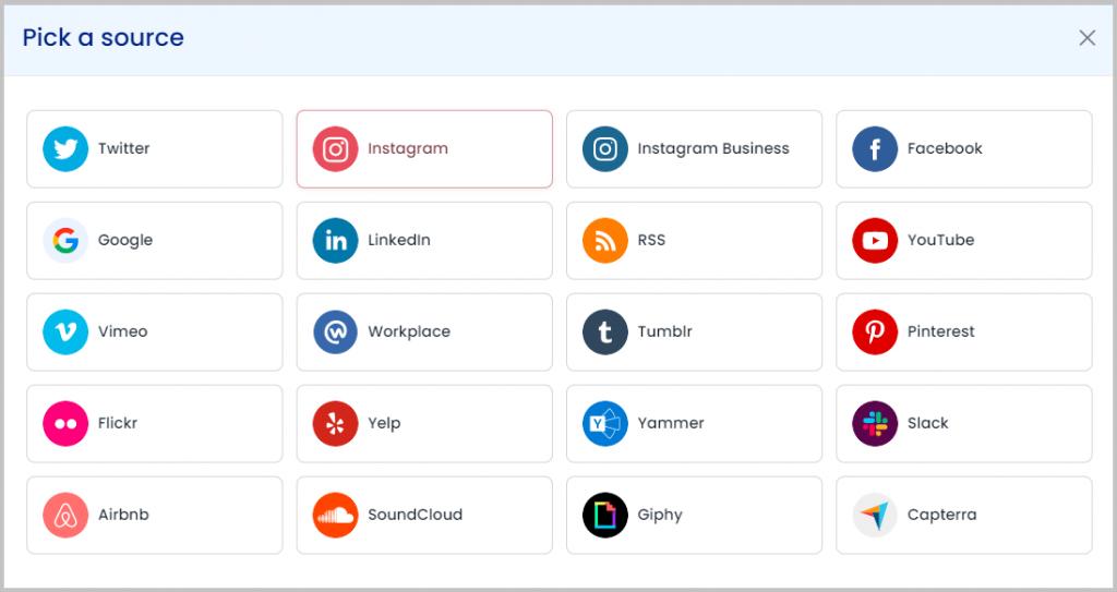 embed social media feed on webflow