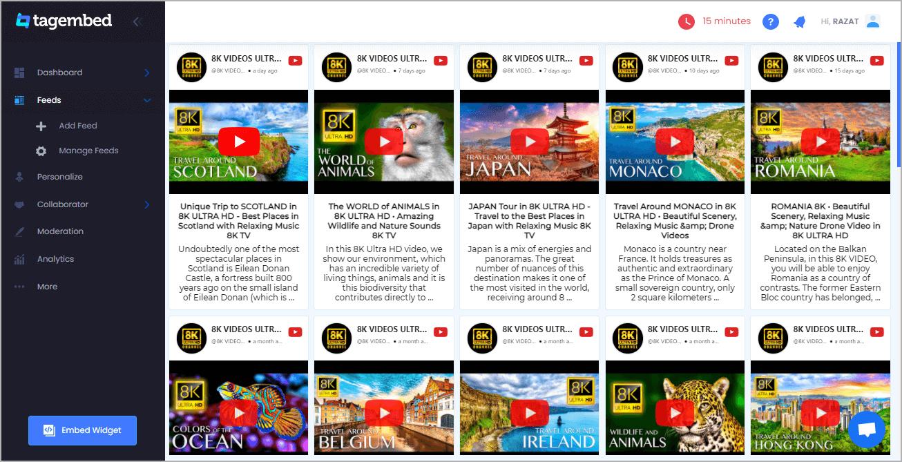 Embed YouTube Playlist on Wix