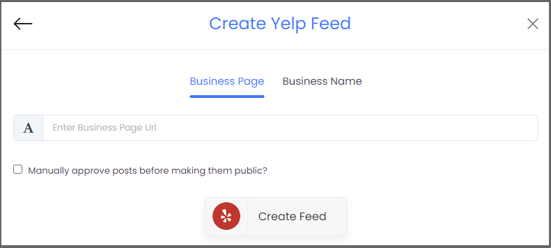 Feed Yelp Reviews