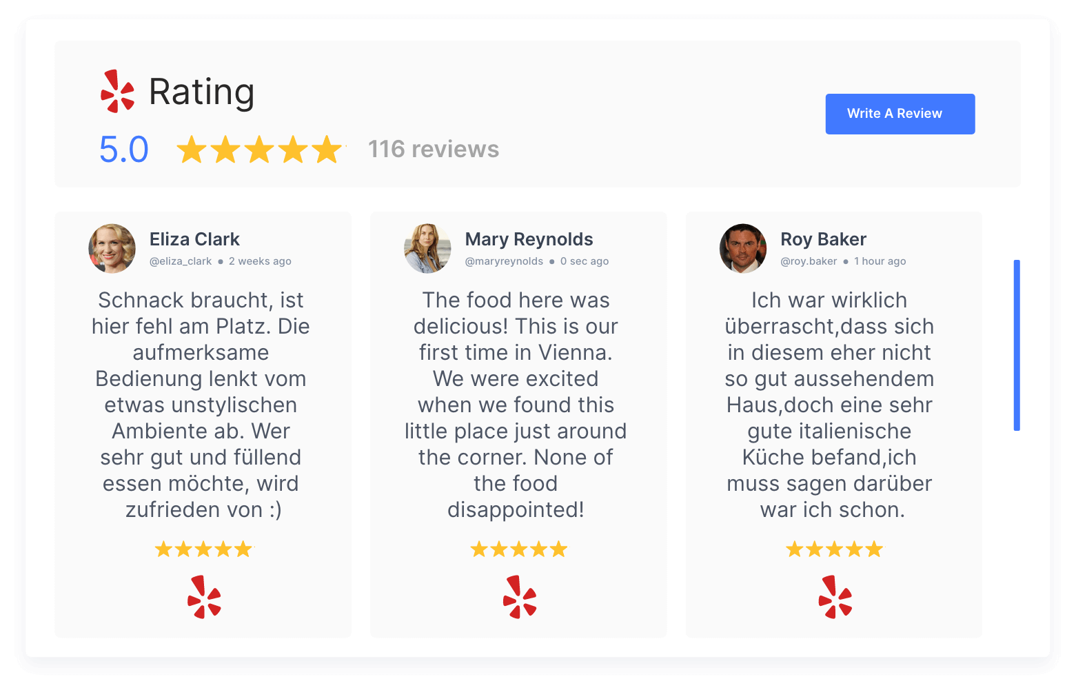 manage yelp reviews at one place