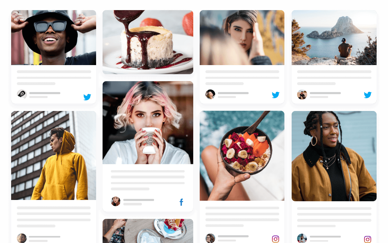 free social media aggregator for website