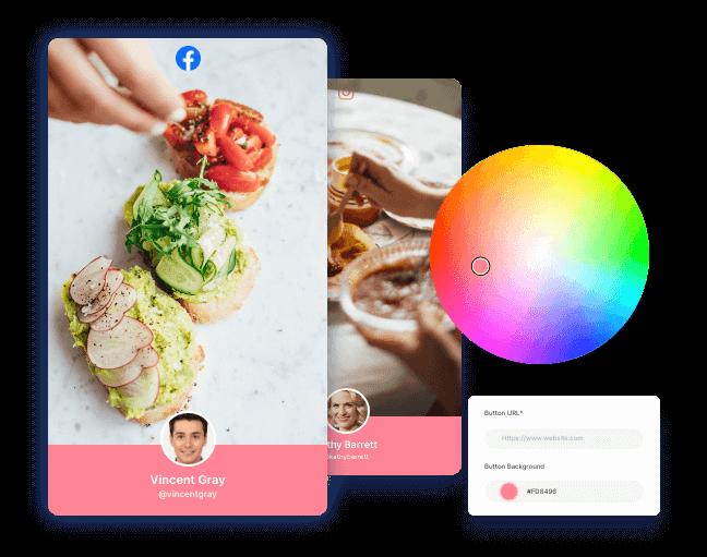 customize hashtag feed aggregator