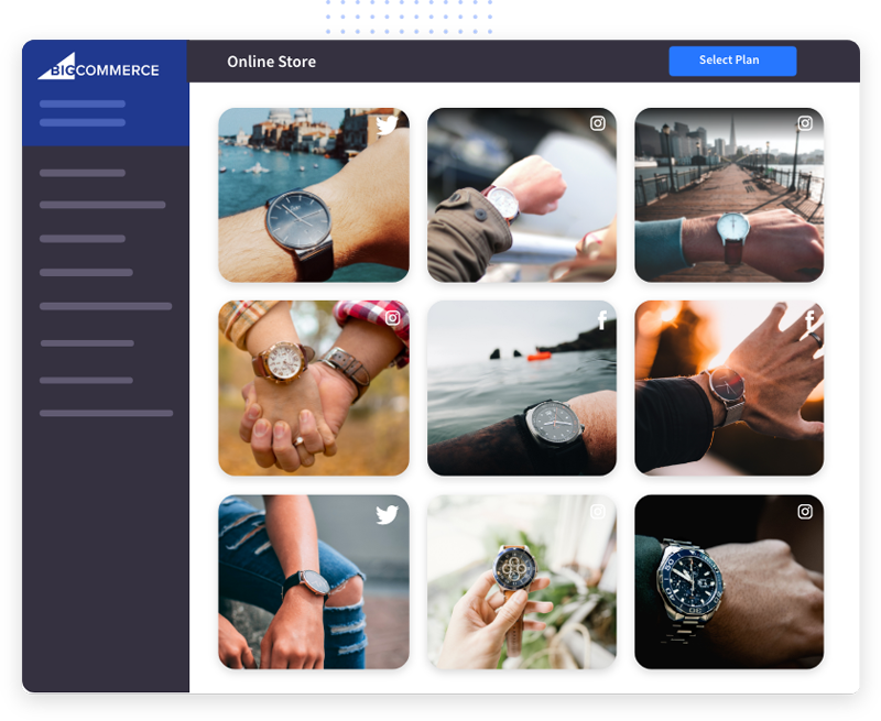 social-media-widget-on-bigcommerce-website